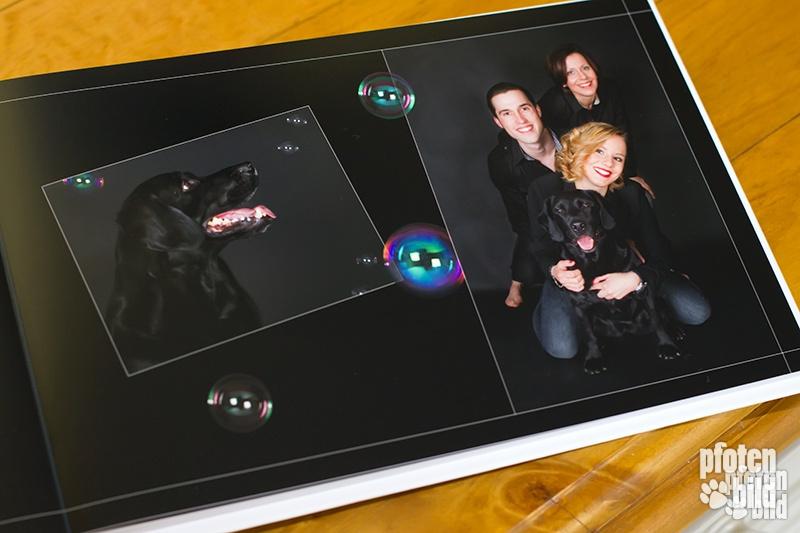 Fotobuch Deluxe mit individueller Seitengestaltung