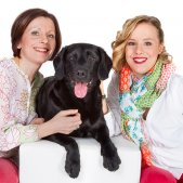 Fotosession Familie mit Hund